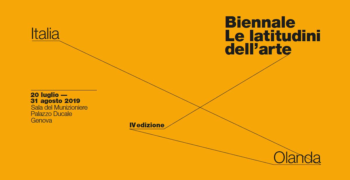 """BIENNALE """"LE LATITUDINI DELL'ARTE"""" IV EDIZIONE OLANDA E ITALIA"""