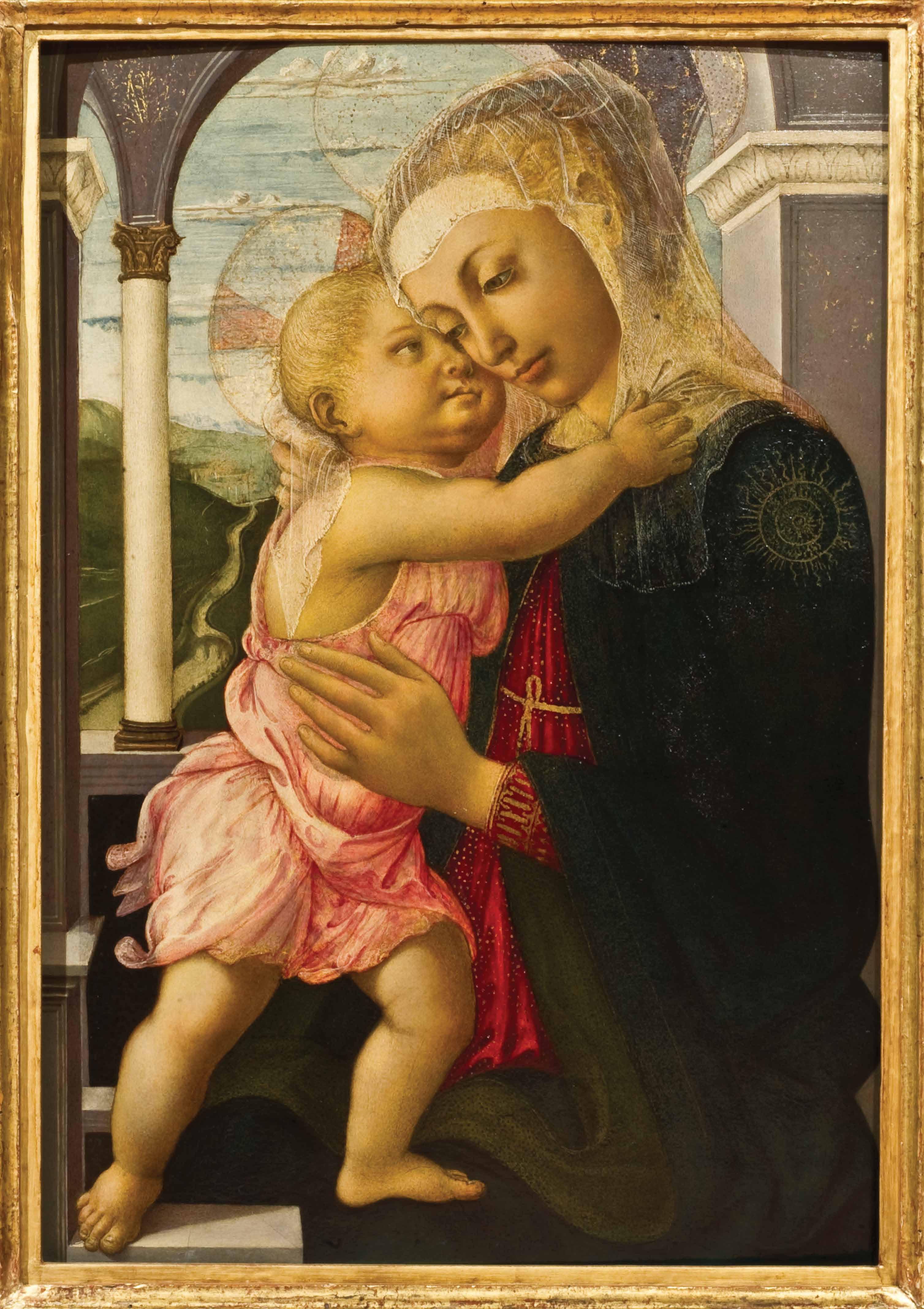 Sandro Botticelli, La Madonna della Loggia,  1466–1467, Gallerie degli Uffizi. ©Gabinetto fotografico delle Gallerie degli Uffizi