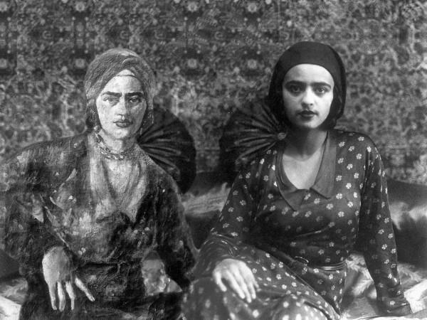 Vivan_Sundaram_Amrita_in_Orientalist_Turban_2001
