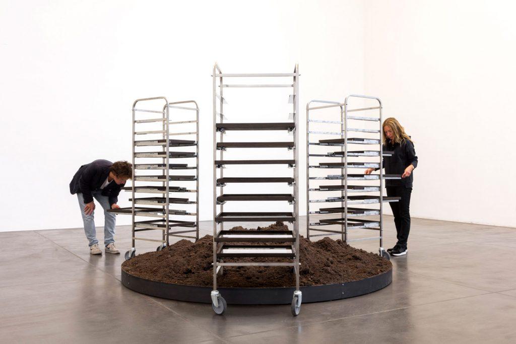 Marzia Migliora, Lo spettro di Malthus, 2020, Museo MAGA, Gallarate