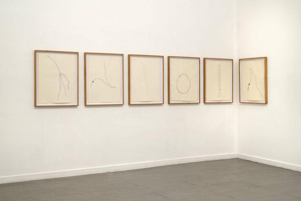 Beatrice Pediconi, Nude, Installation view, third room. ph. Giorgio Benni