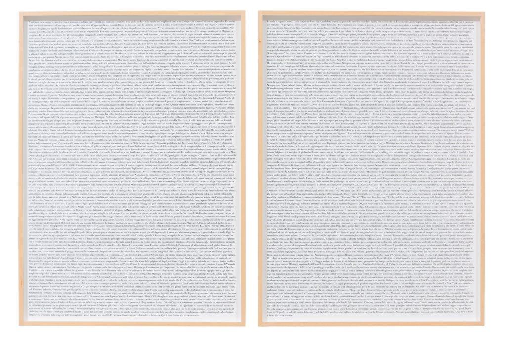 Daniela Comani, The Beginning The End, 2020, pigment print su Photo Rag, due elementi, cm 70x50 cad., ed.5, Courtesy l'artista e Galleria Studio G7, Bologna. Foto Alessandro Fiamingo
