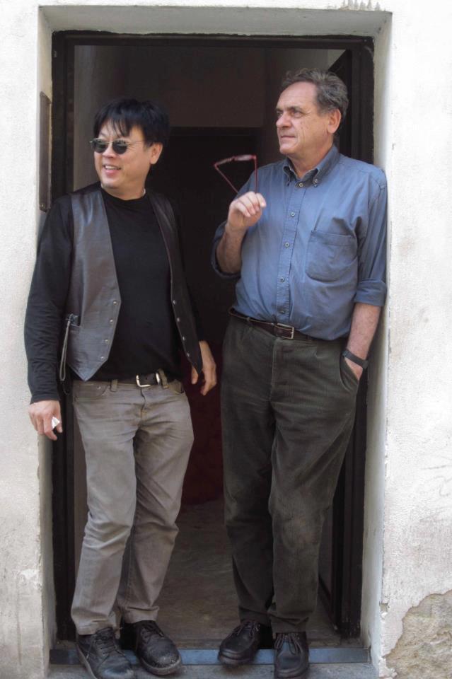 H.H. Lim e Alberto Garutti