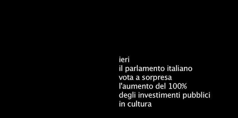 Alessandro Nassiri- still da video-Una buona notizia, 2012