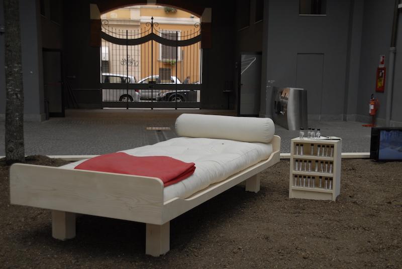 Gianfranco Baruchello, Come la quercia, installazione, MACRO Roma 2015 courtesy Fondazione Baruchello