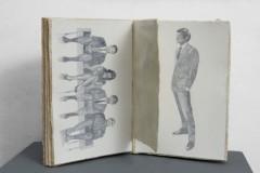 GIUSEPPE SYLOS LABINI, Album di famiglia, 2012. Acquerello su carta giapponese, cm 40x60