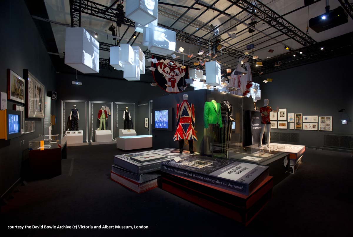 Installation Shot of David Bowie is courtesy David Bowie Archive (c)Victoria and Albert Museum,London(4)