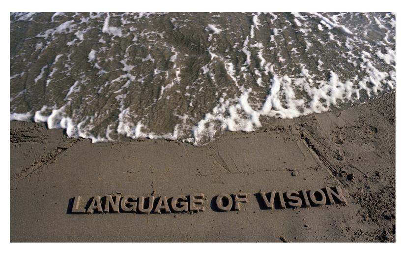 Language of vision - foto -cm.70x100-1976