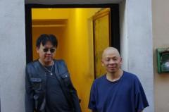 Lin Yilin e HH.Lim in Edicola Notte