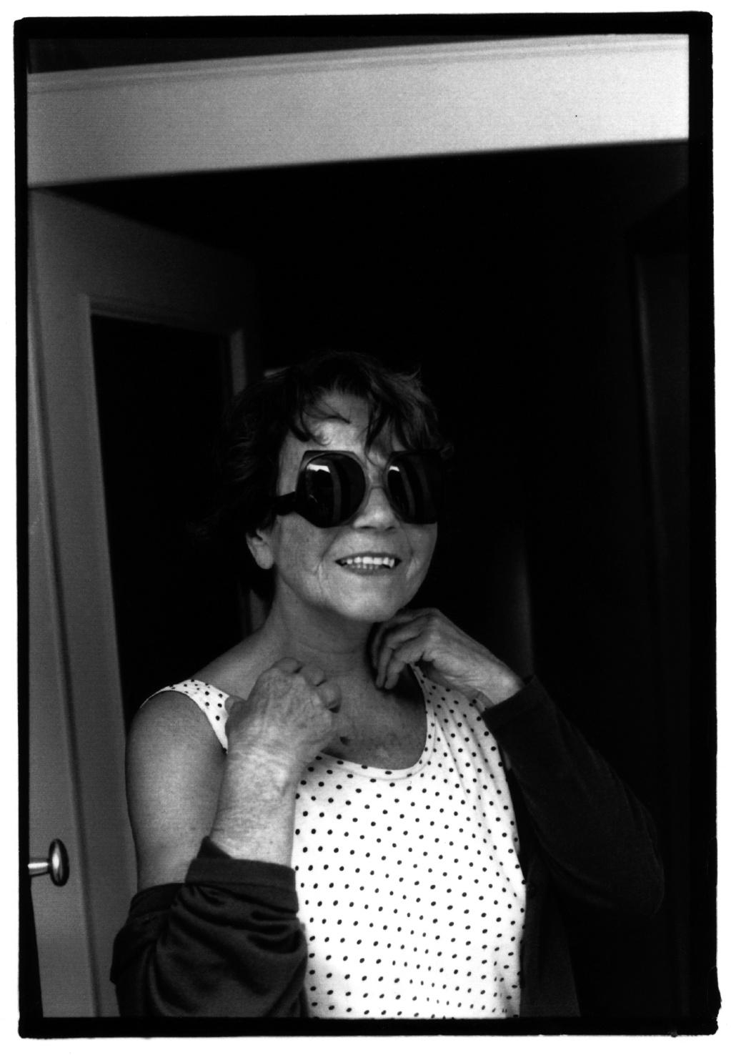 Maria Lassnig - portrait