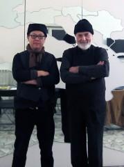 Michelangelo Pistoletto e HH.Lim 2013b