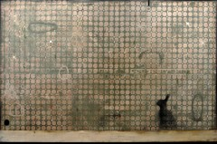 Mirko Baricchi, Leveret, 2013, tecnica mista su tela, cm. 100X150