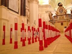 Privata-mostra-femminicidio-Opera di Rita Soccio, Vi amo da morire