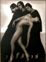 Rudolf Koppitz, Studio di movimento, 1925 c.
