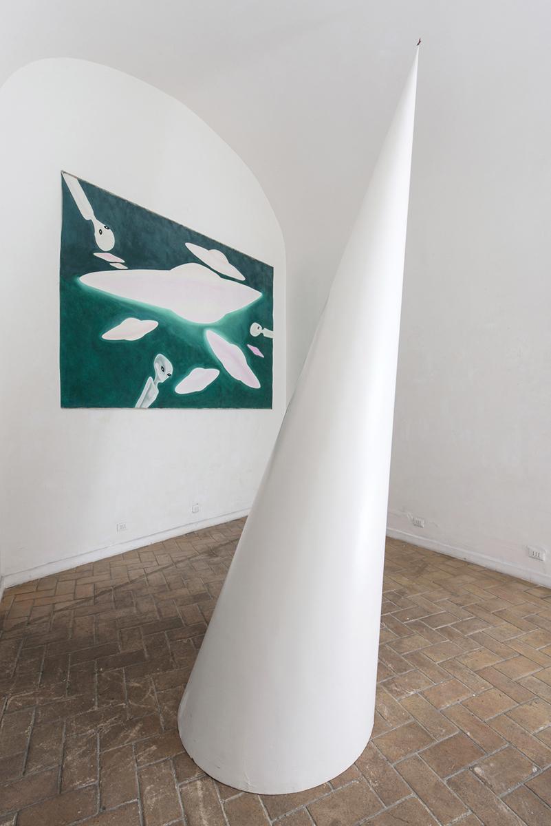 Lisanti e Mochetti in galleria